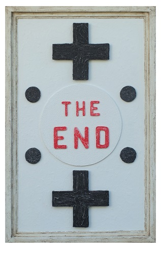 THE END - (Opera su tavola)  -